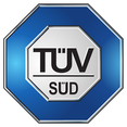 TÜV-SÜD zertifiziert