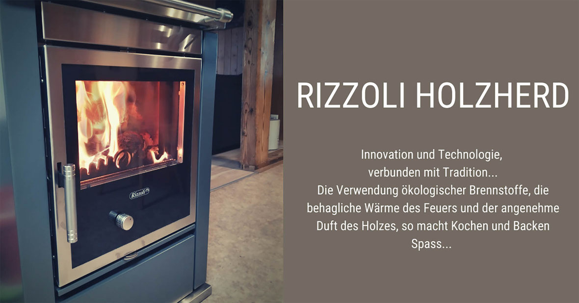 Rizzoli Holzherd von peterkeramik GmbH Region Thun Bern