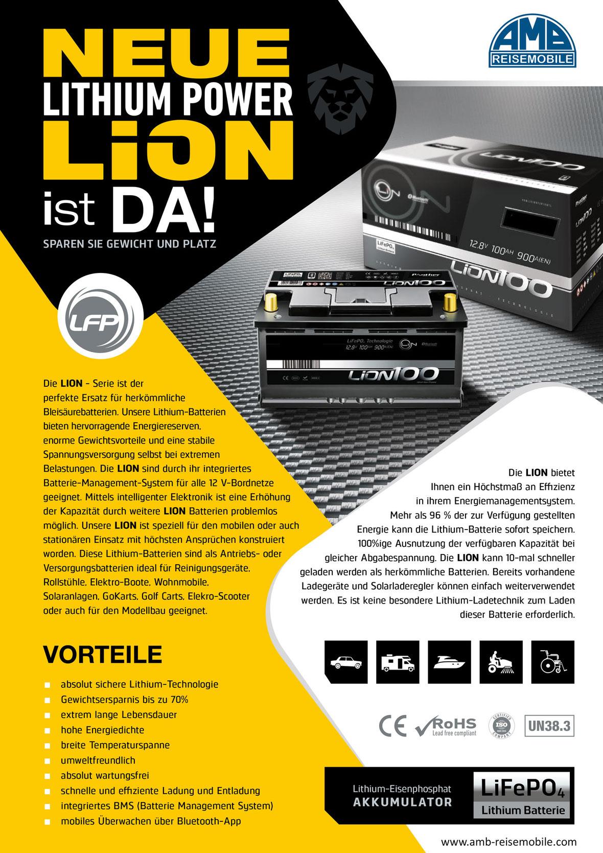 Lithium Power Batterie
