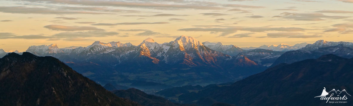 Blick von der Kremsmauer in Richtung der Haller Mauern / Ennstaler Alpen