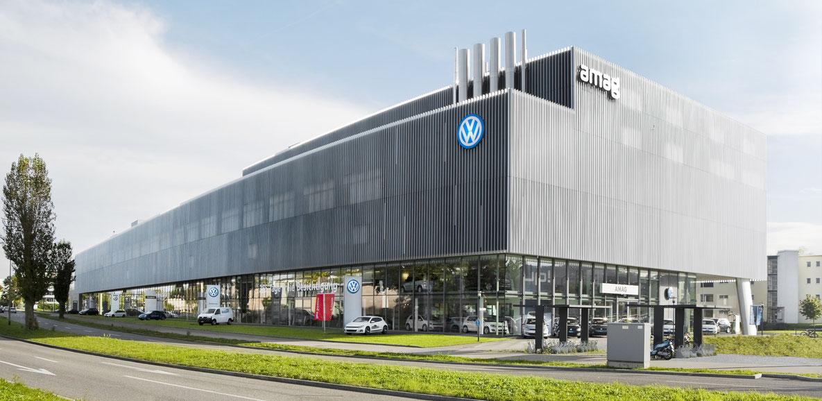 Automobilzentrum AMAG Dübendorf, Fischer Architekten Architekturfotografie