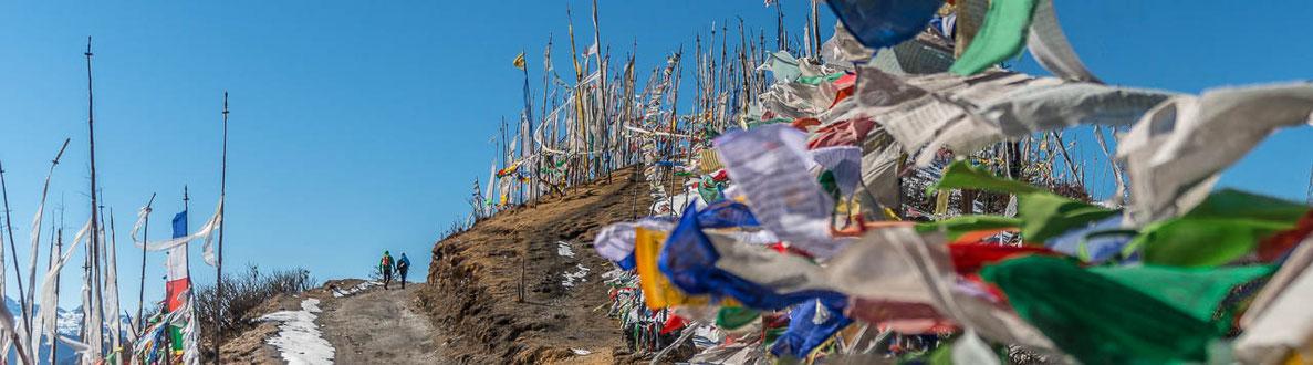Rund-Reise durch Bhutan im Winter - Klosterfest in Punakha