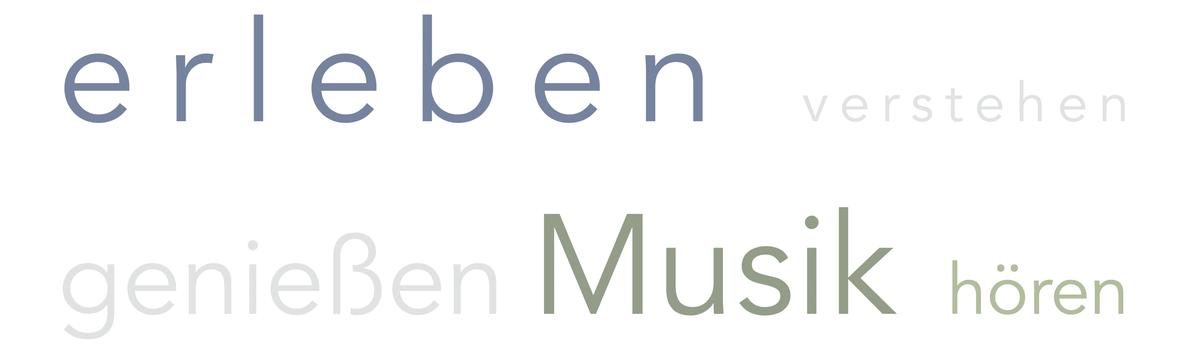 Musik erleben, verstehen, genießen