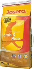 Josera Lamb & Rice - Ягненок и Рис