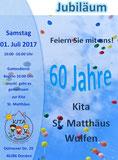 Kita St. Matthäus Jubiläum 01.07.2017