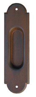 Maniglia per scorrevole in ferro battuto