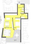 Erdgeschoss 2,5 Zimmer mit Terrasse