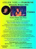 Atelier voix avec Pakoune 30 mars 2014 à Cannes