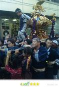 いわくら雷人さん:西麻布霞町祭礼