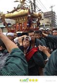 OL虹子さん:花畑大鷲神社大祭