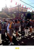 OL虹子さん: 草加下稲荷神社例大祭