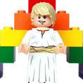Jesus am Regenbogen