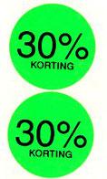 fluor prijsetiketten etiketten kleuren procenten korting etiket op rol versteden tilburg