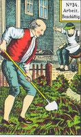 Arbeit, Aktivität, bei Kindern auch Kindergarten oder Schule