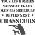 tee-shirt homme chasseur