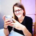 JUSTINE Perussel, blogueuse pour la communauté