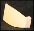 plaque de tête ivoire fibre