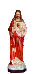 Religious statues Jesus - Sacred Heart of Jesus blessing