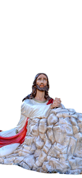 Religious statues Jesus - Christ in the Garden of Gethsemane