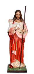 Religious statues Jesus - Sacred Heart of Jesus the Good Shepherd