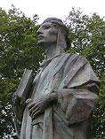Estatua en Algeciras a Almanzor