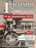 I encuento de motos clasicas ciduad de Totana