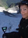 Glacier face nord Maupas
