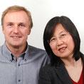 DI (FH) Wolfgang Gastner und Janet Mo - Gründer und Geschäftsführer von Zentron