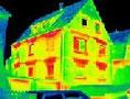 Thermographie Aufnahme Haus