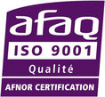 Logo AFAQ AFNOR certification ISO 9001