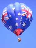 Australian Flag Balloon