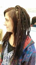 Genevieves divine new dreads