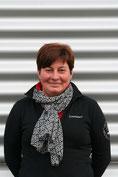 Martina Plenefisch, in der Kfz-Werkstatt in Rutesheim bei Leonberg zuständig für die Buchhaltung und die SIKU-Autos