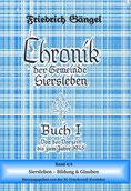 """Chronik von Siersleben Buch I  Band IV: """"Siersleben - wissen und Glauben"""" (Blaubuch)"""