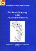 Karin Mettke-Schröder, Petra Mettke/Denkentblätterung/Gedichtband/ISBN 3-8334-2138-9/eBook