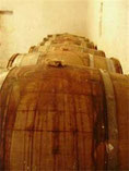 Oak wine barrels