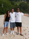 Enzo mit seiner Frau aus Italien