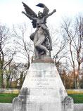 Rodin - Skulptur - ein Geschenk der Niederlande an die Stadt Verdun