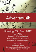 Adventsmusik in der Jestädter Kirche