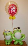 Ballonfrosch zum Geburtstag
