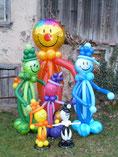 Ballonfiguren / Ballonclowns
