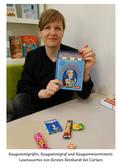 """Kirsten Reinhardt mit ihrem Kinderbuch """"Der Kaugummigraf"""" auf der Leipziger Buchmesse 2017"""