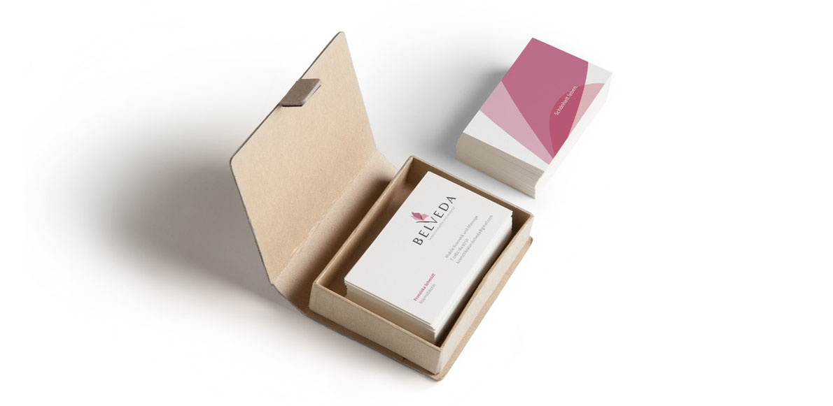 Belveda - Corporate Design - logo designen lassen - Visitenkarten designen lassen