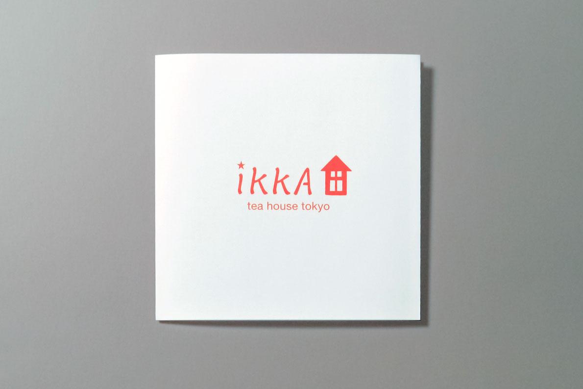ikkA「ikkAのお茶時間ティーバッグ」リーフレット