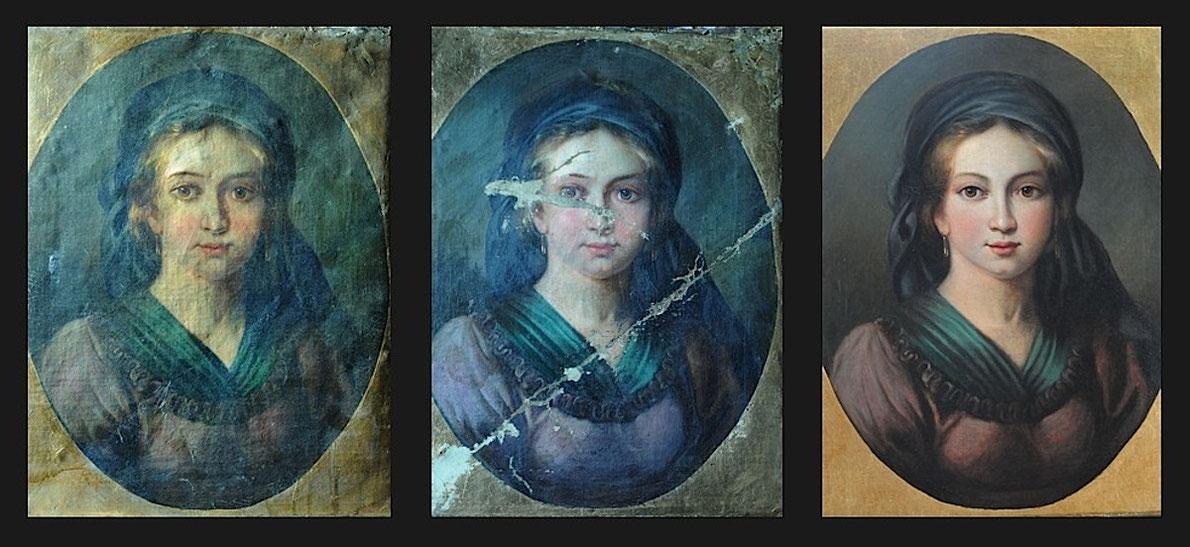 Gemälderestaurierung Gregor Eder Wien, Restaurierung von Bildern und Rahmen