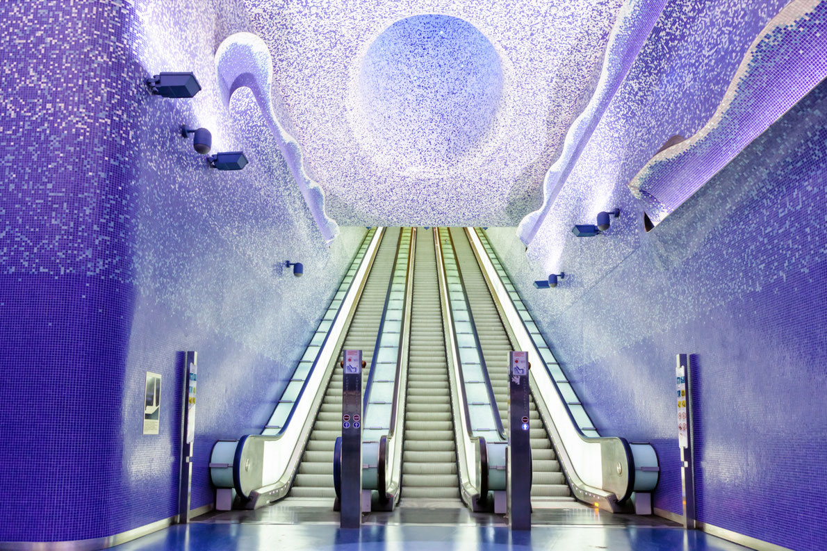 Best subway stations in Europe Toledo Metro European Best Destinations copyright luckyraccoon
