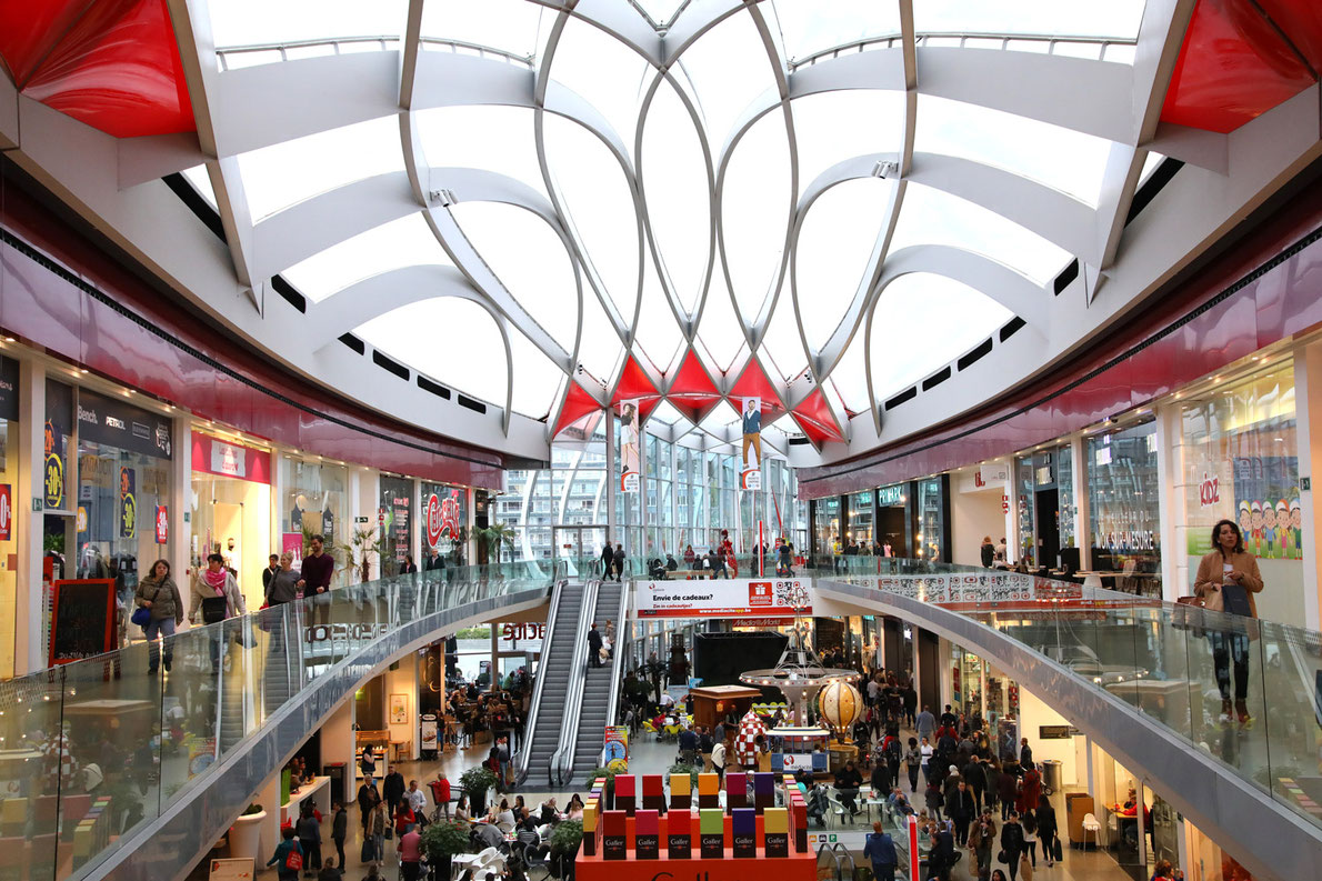 Best shopping centers in Europe - Médiacité Liège