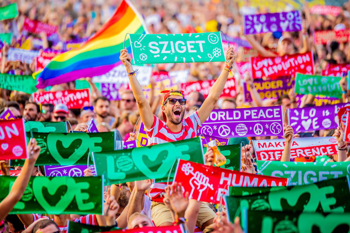Sziget Festival - Best summer music festivals in Europe