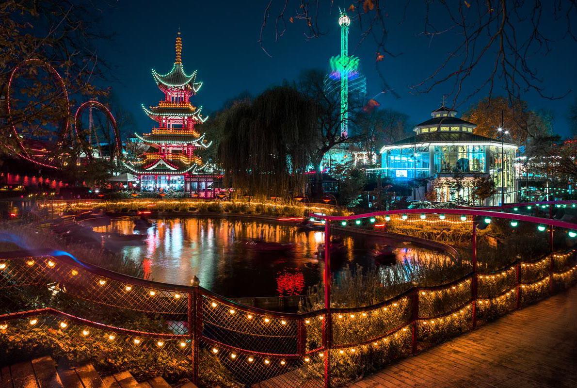 Tivoli Gardens Denmark - Best amusement parks in Europe