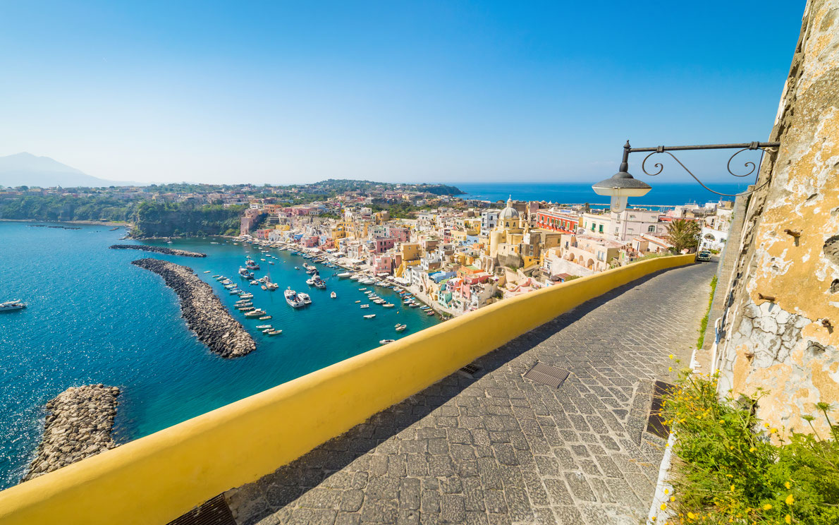 Best hidden gems in Europe - Procida Island copyright  IgorZh  - European Best Destinations
